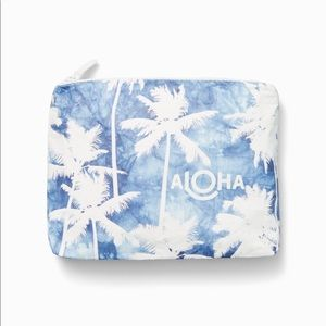 Aloha collection Splash proof small travel pouch